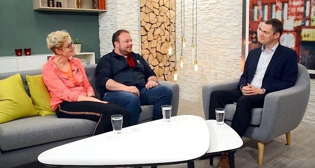 Interview med Helle og Freddi