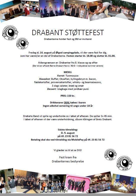 Drabant støttefest
